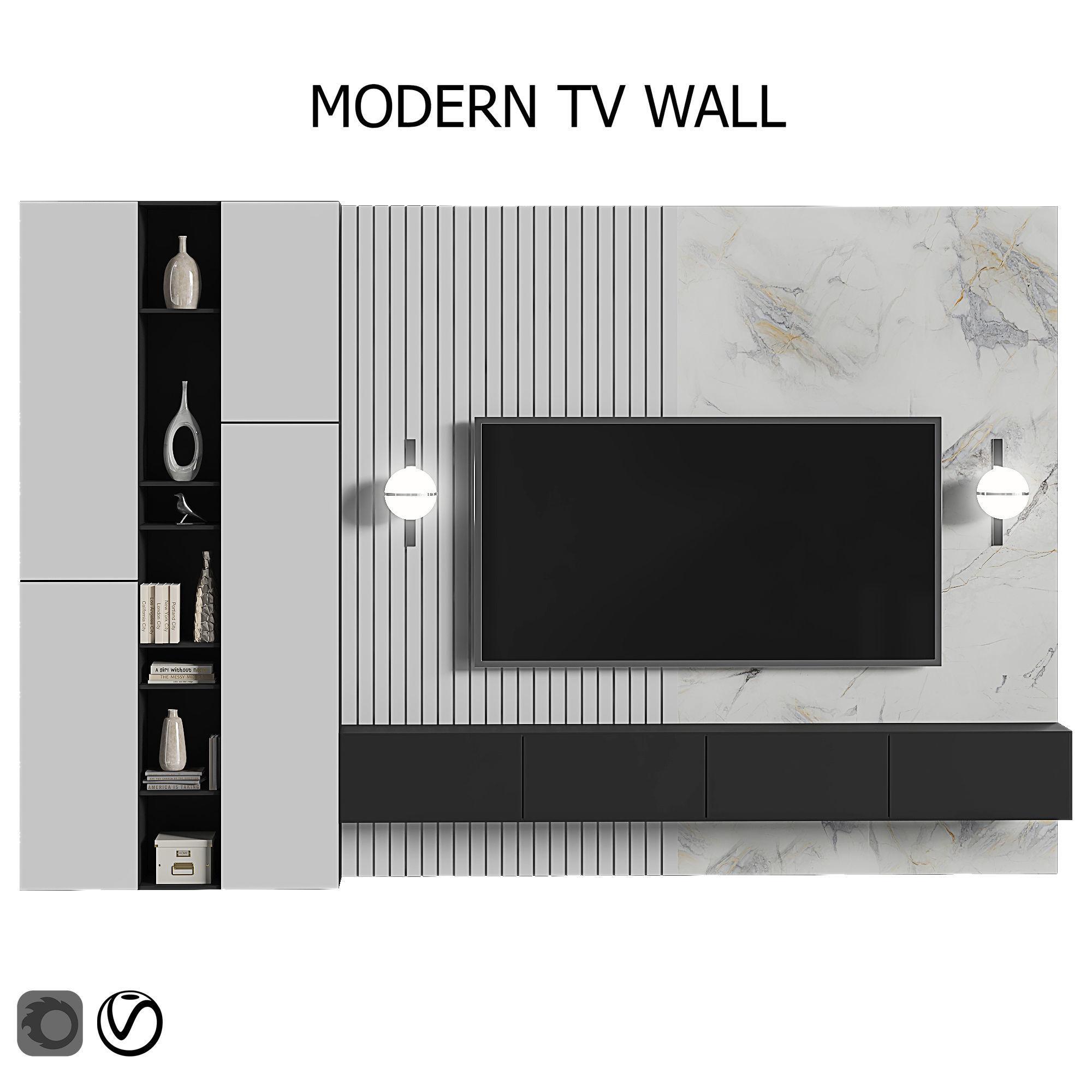 modern tv wall 17