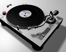 Naone DJ Deck  3D Model