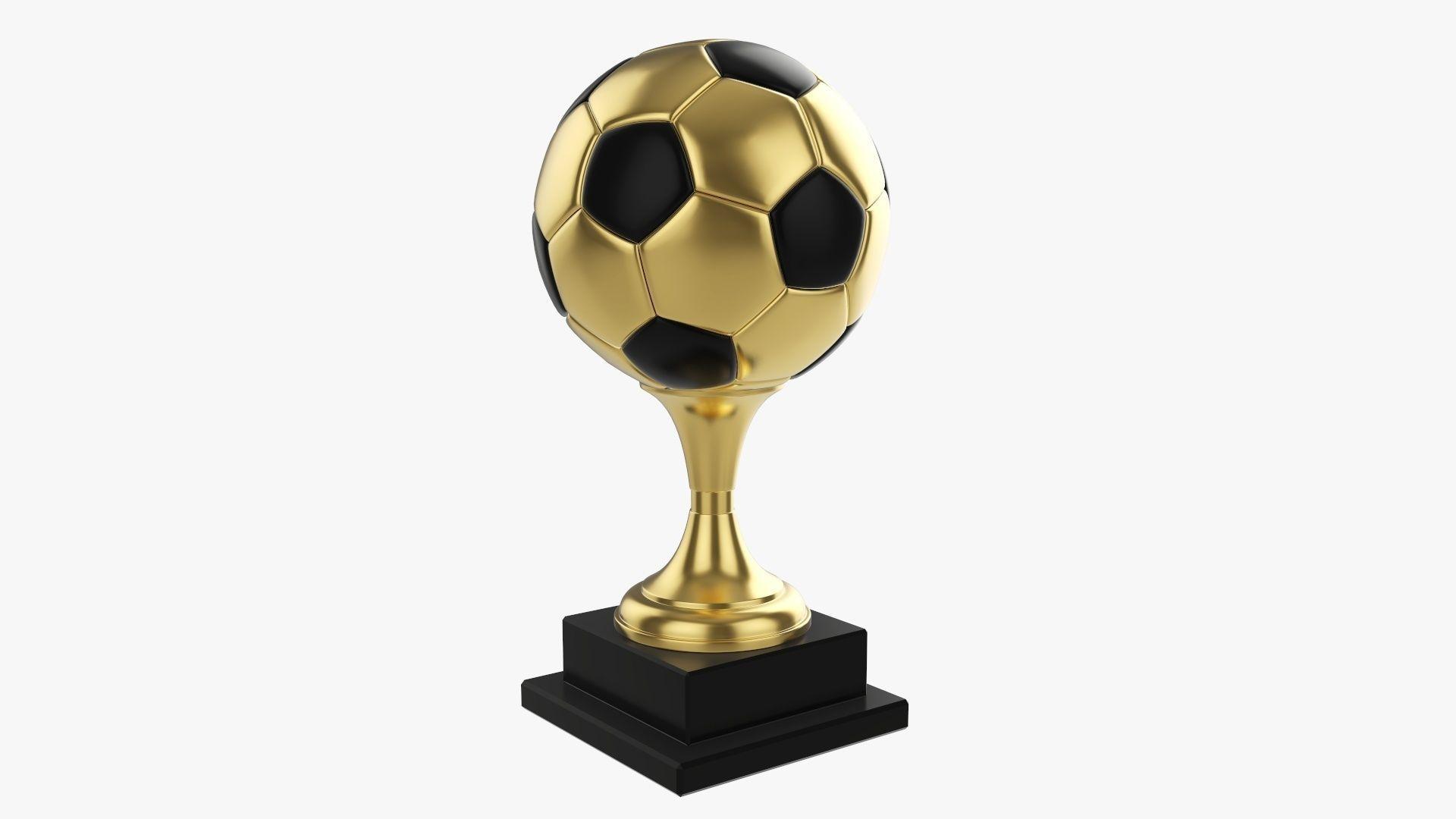 Trophy ball soccer