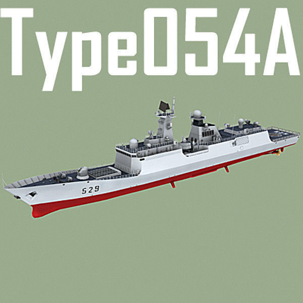 Chinese Navy Type 054A Jiangkai Class Missile Frigate