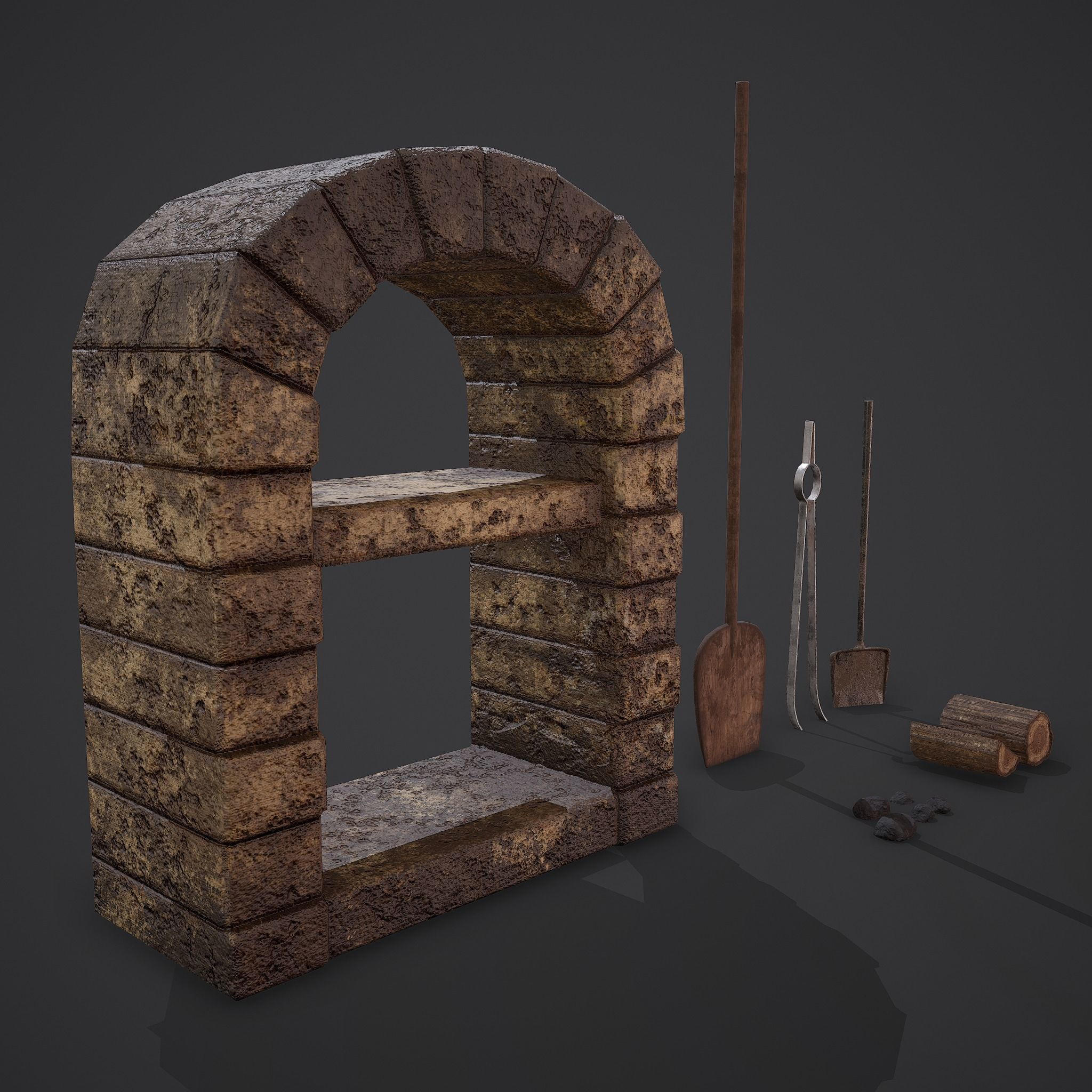 Medieval Bakers Oven Set
