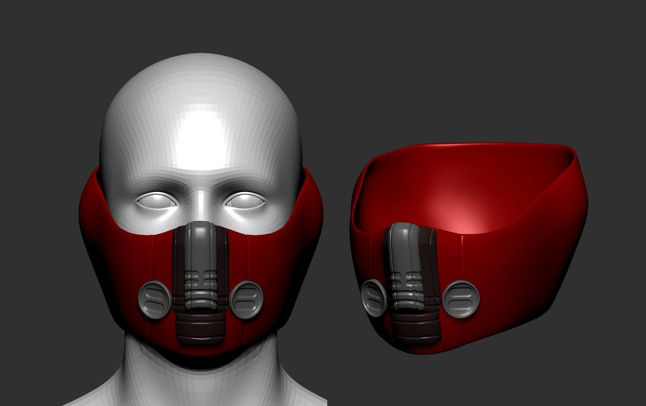 Demon Satyr Mask 3D print model   CGTrader