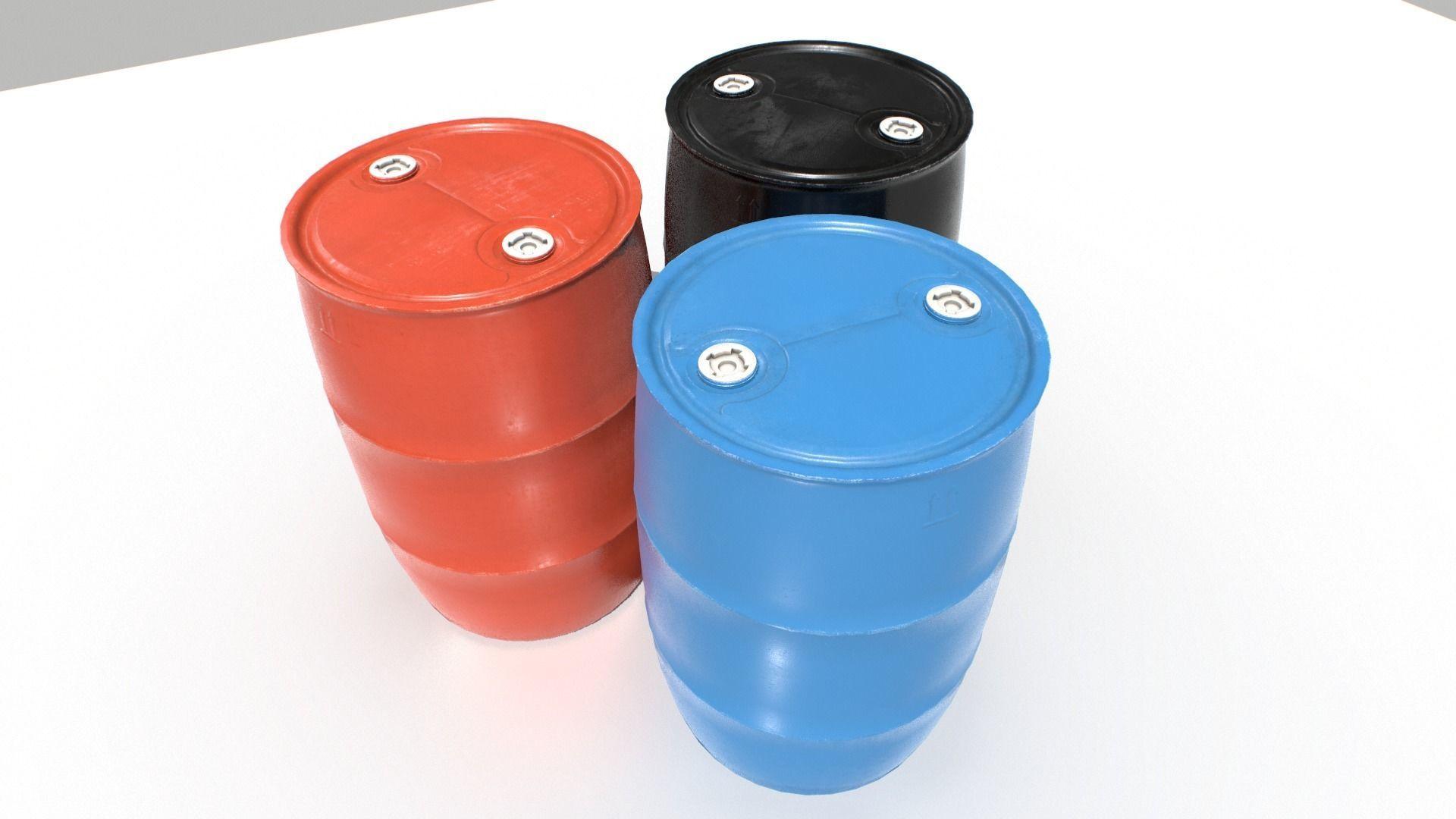 Plastic Barrel 1