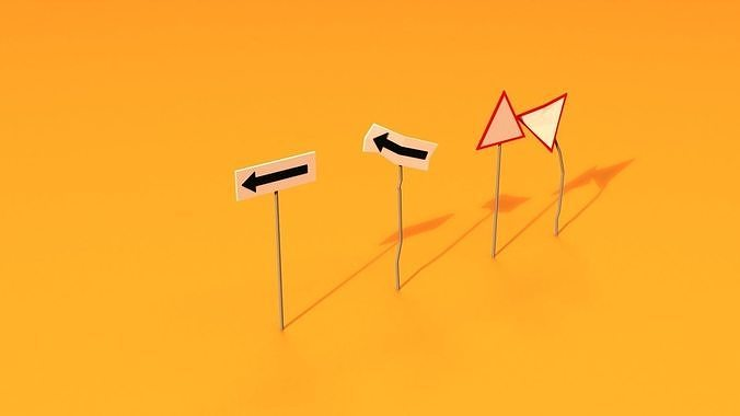 Post Apocalyptic Road Signs