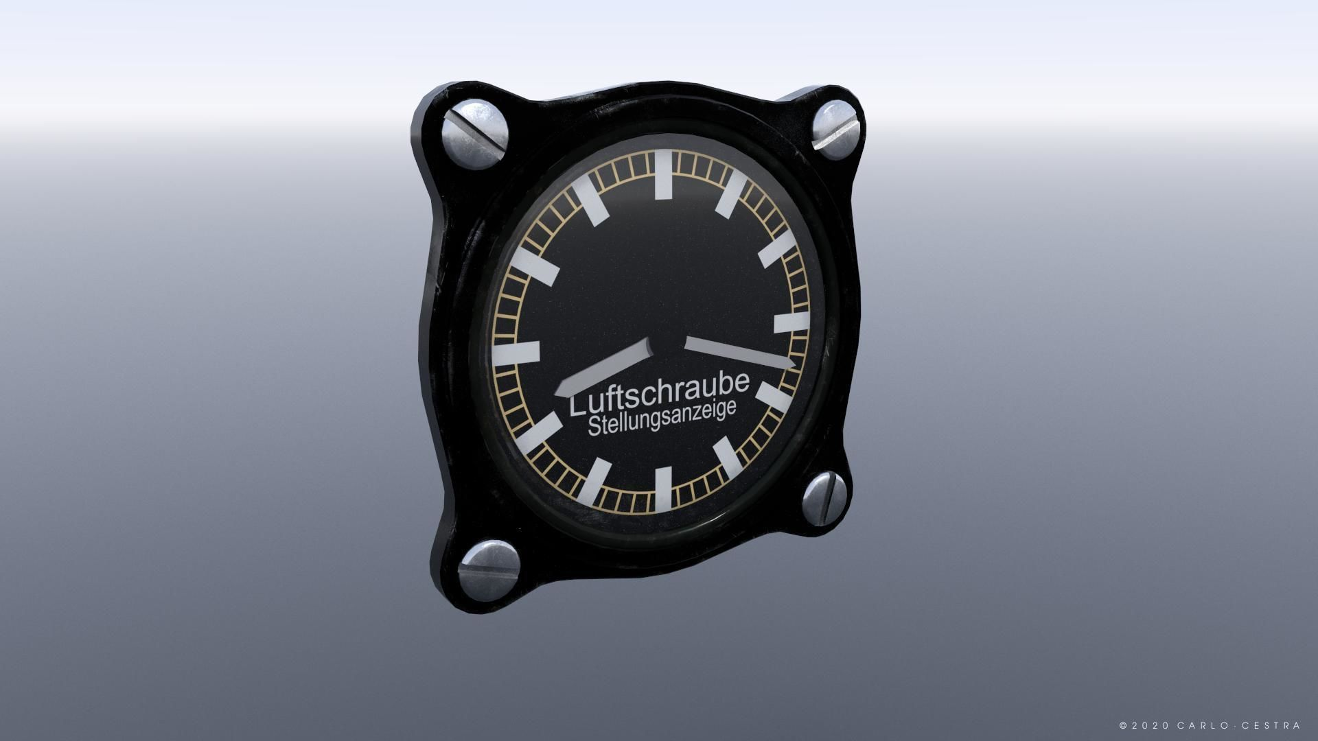 GERMAN PROPELLER PITCH INDICATOR
