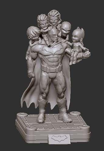 Fan Art - Batman Family