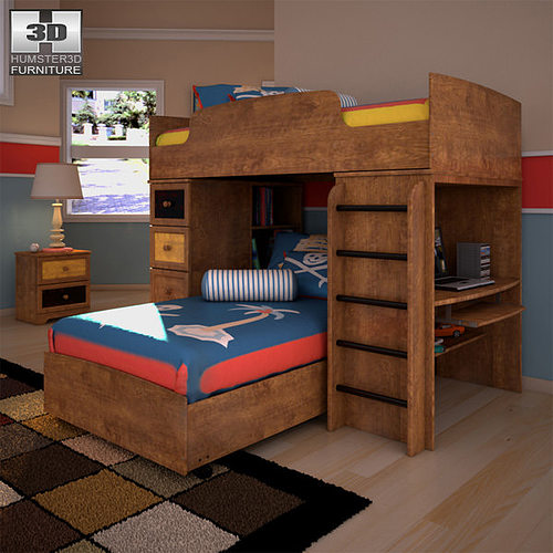 Alexander Youth Loft Bed