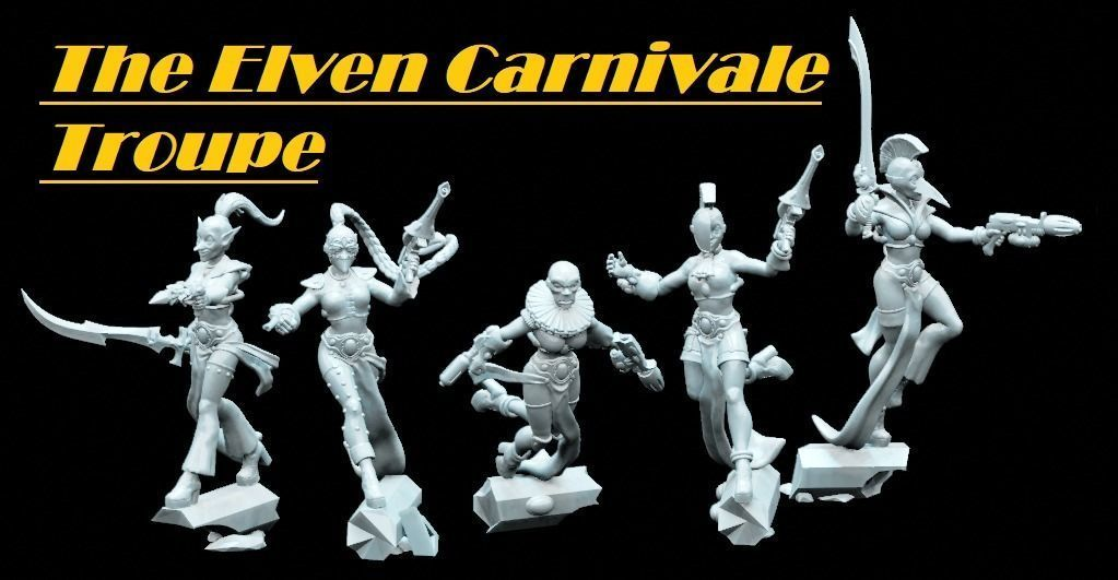The Elven Carnivale Troupe