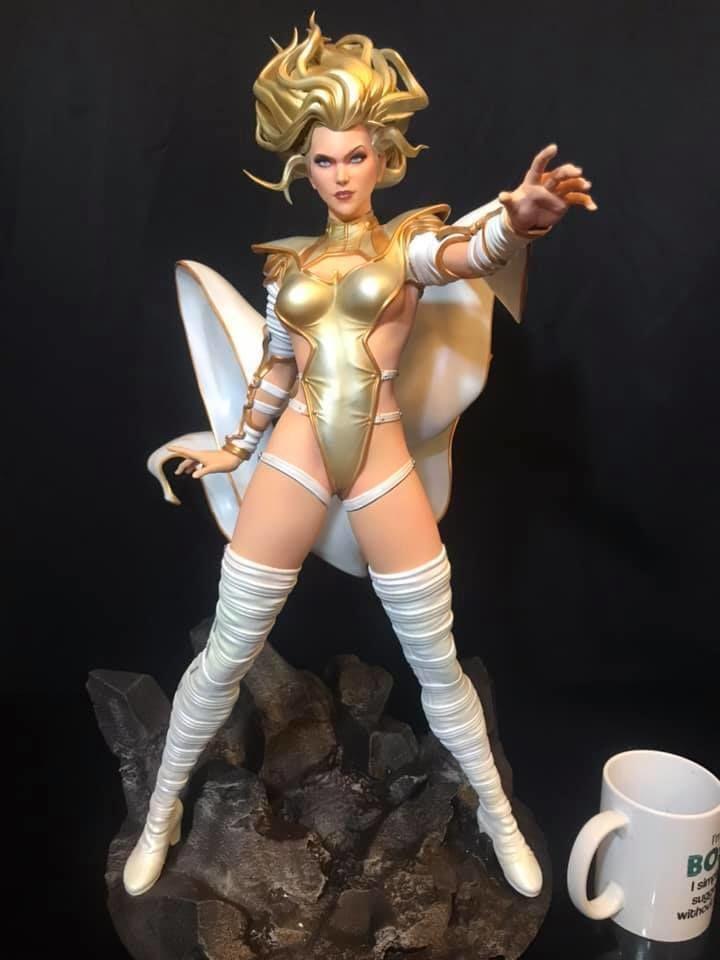 Fan Art - Phoenix Force Emma Frost