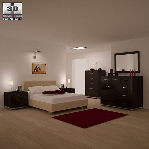 Bedroom Furniture 26 Set 3d Model Cgtrader