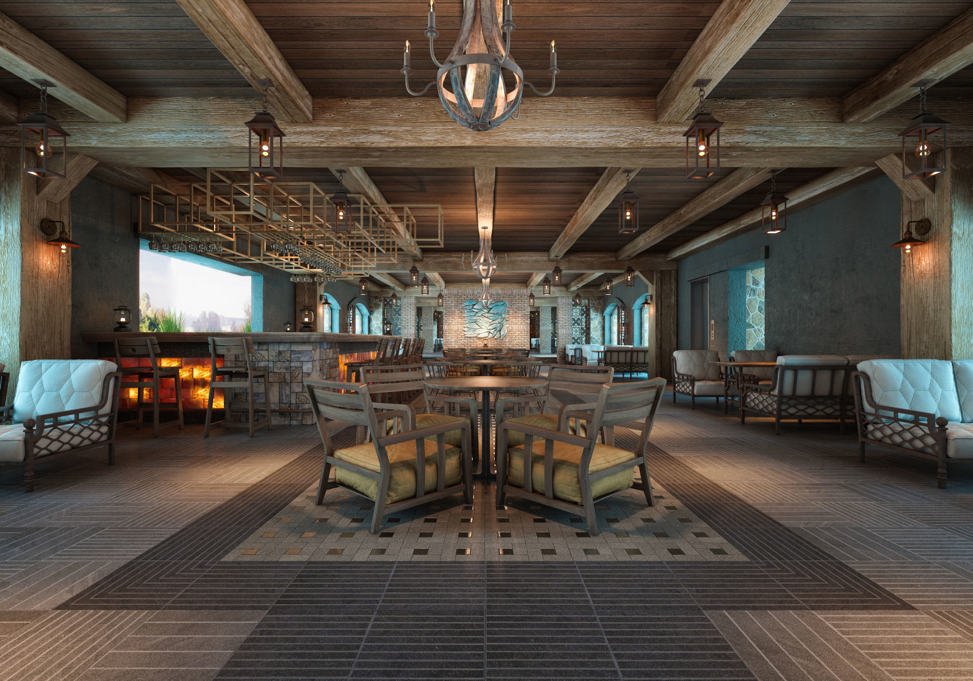 AQ Rustic Restaurant