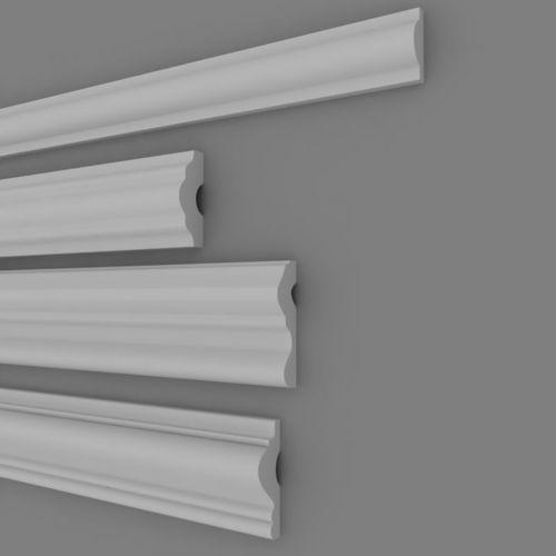 architectural plaster decorations 1 3d model max 1