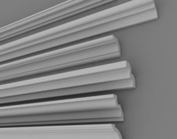 Architectural Plaster Decorations 3 3D