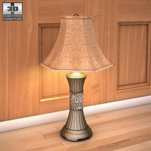 3d Model Ashley Wilmington Sleigh Bedroom Set Vr Ar Low Poly Max Obj 3ds Fbx C4d Cgtrader Com
