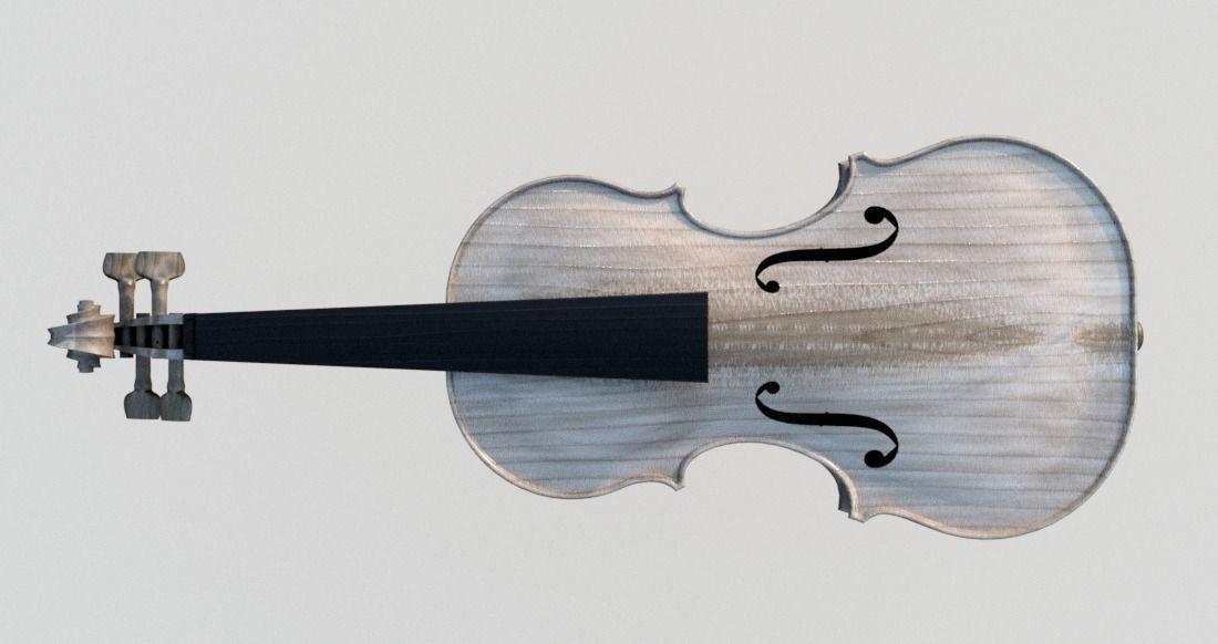 VIOLIN Stradivari design inspired