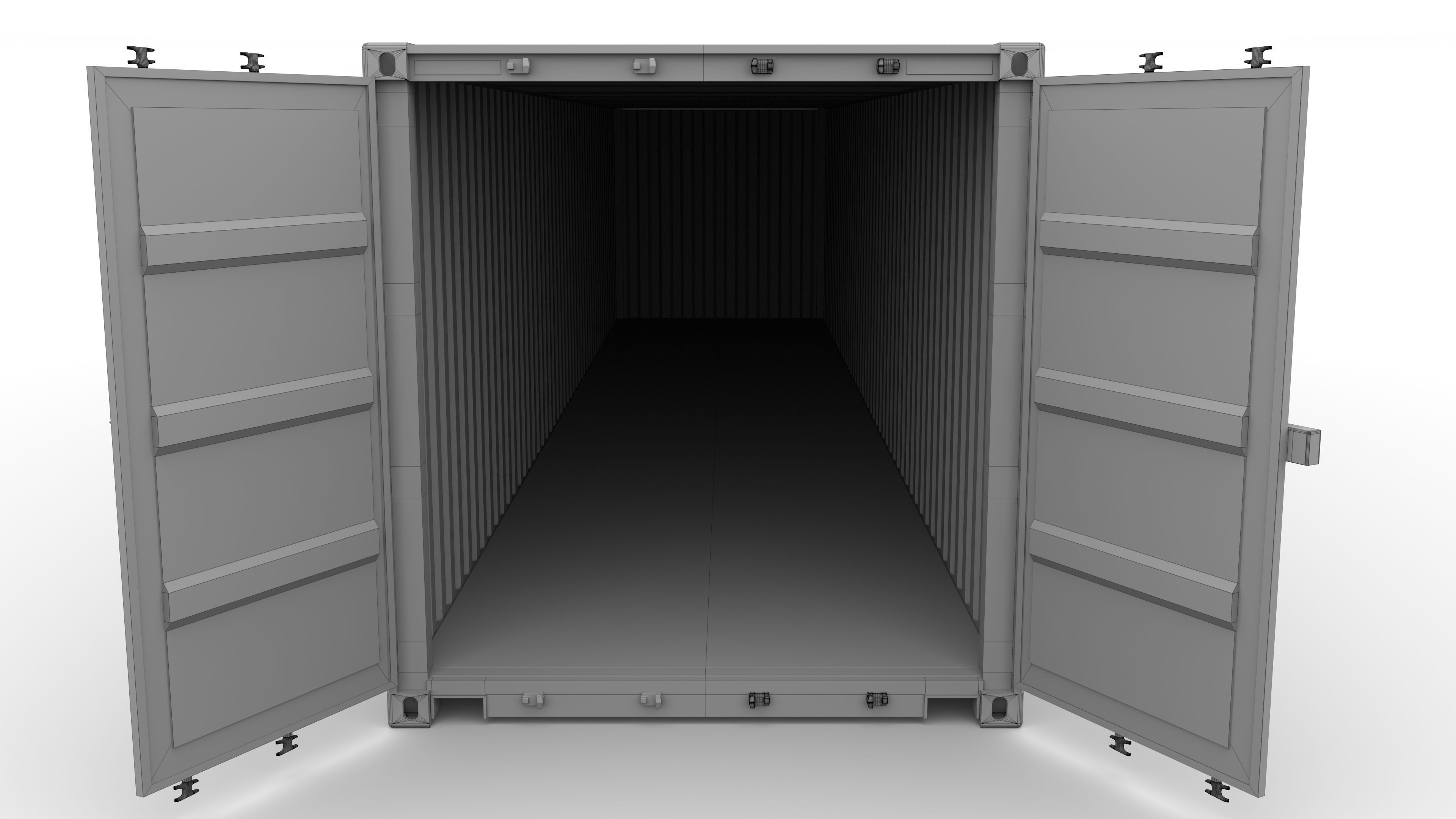 Shipping Furniture Model Magnificent Shipping Container Collection 3D  Cgtrader Decorating Inspiration