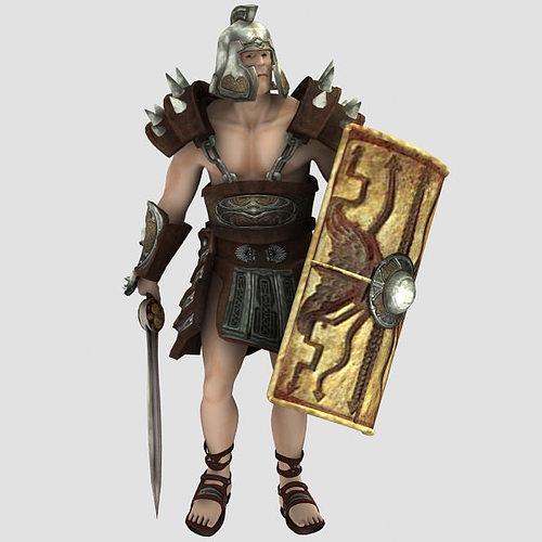 spartacus 3d model max 1