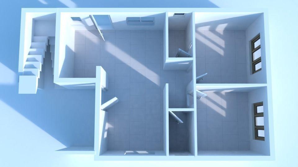 2 bhk Floor Design