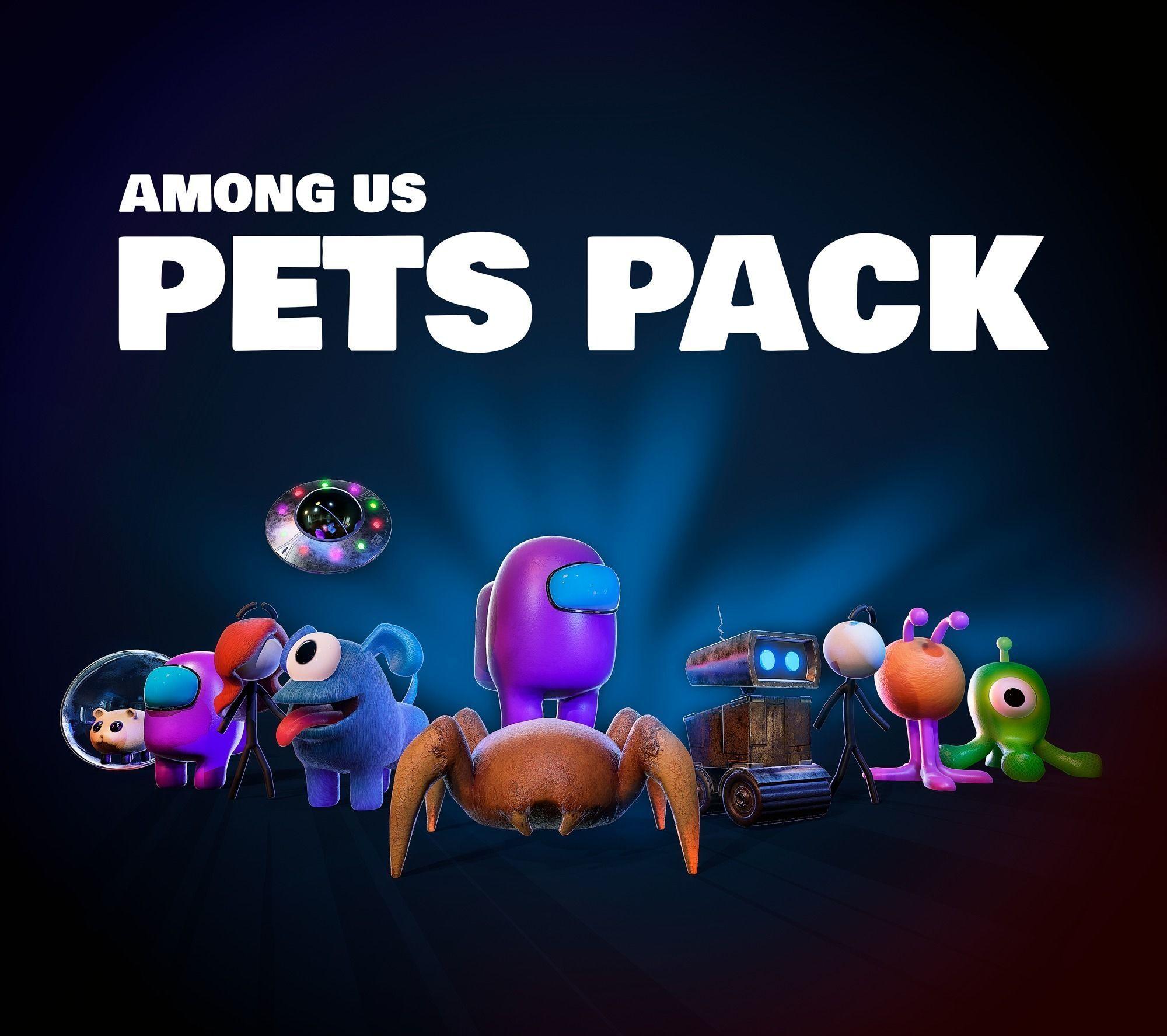 Among Us Pets Pack