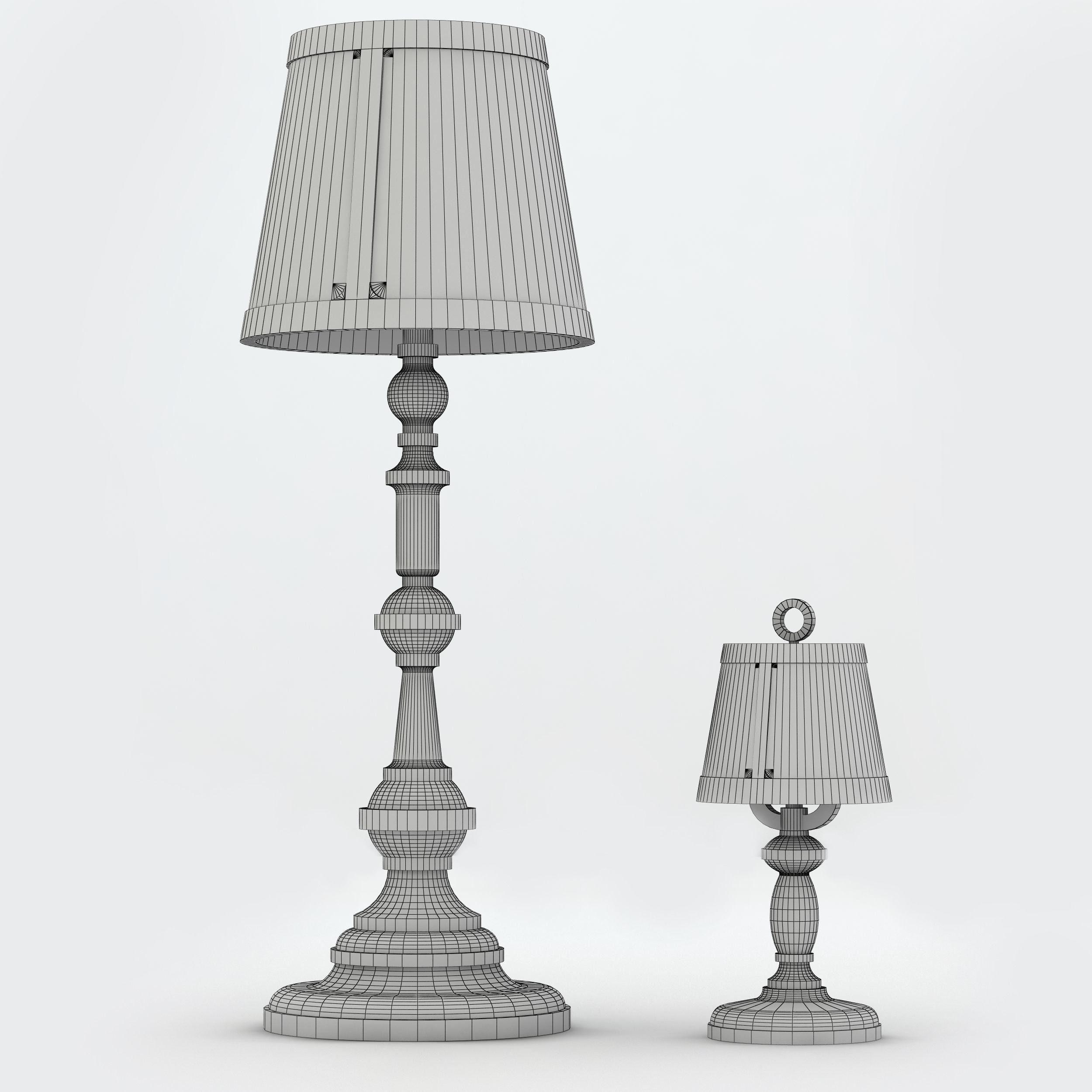 Floor lamp moooi 3d model max 3ds fbx cgtradercom for Moooi paper floor lamp replica