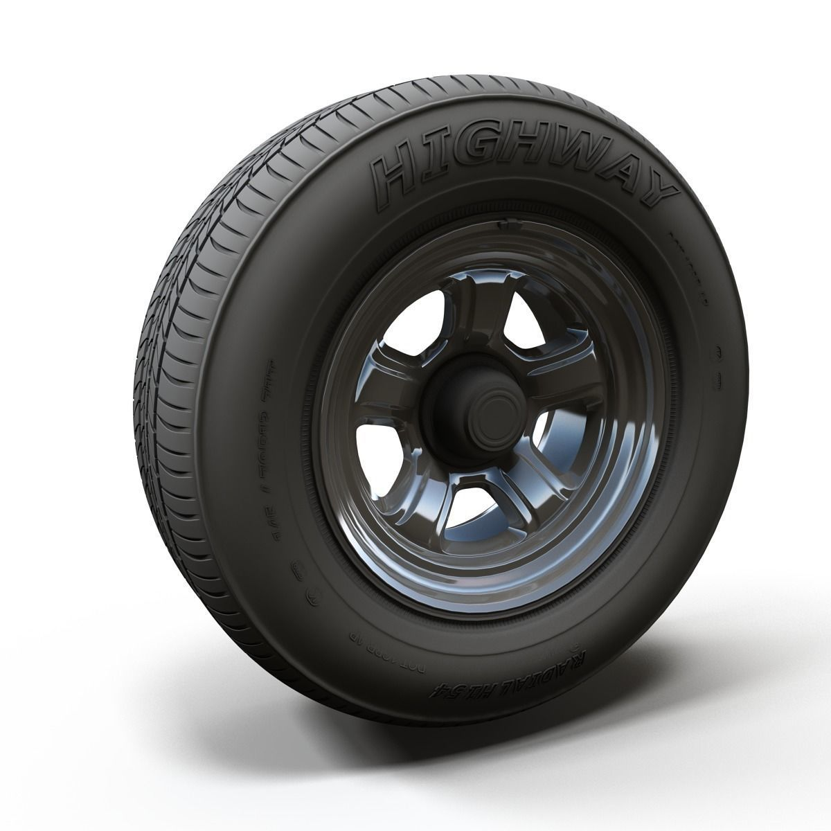 Dodge highpoly wheel
