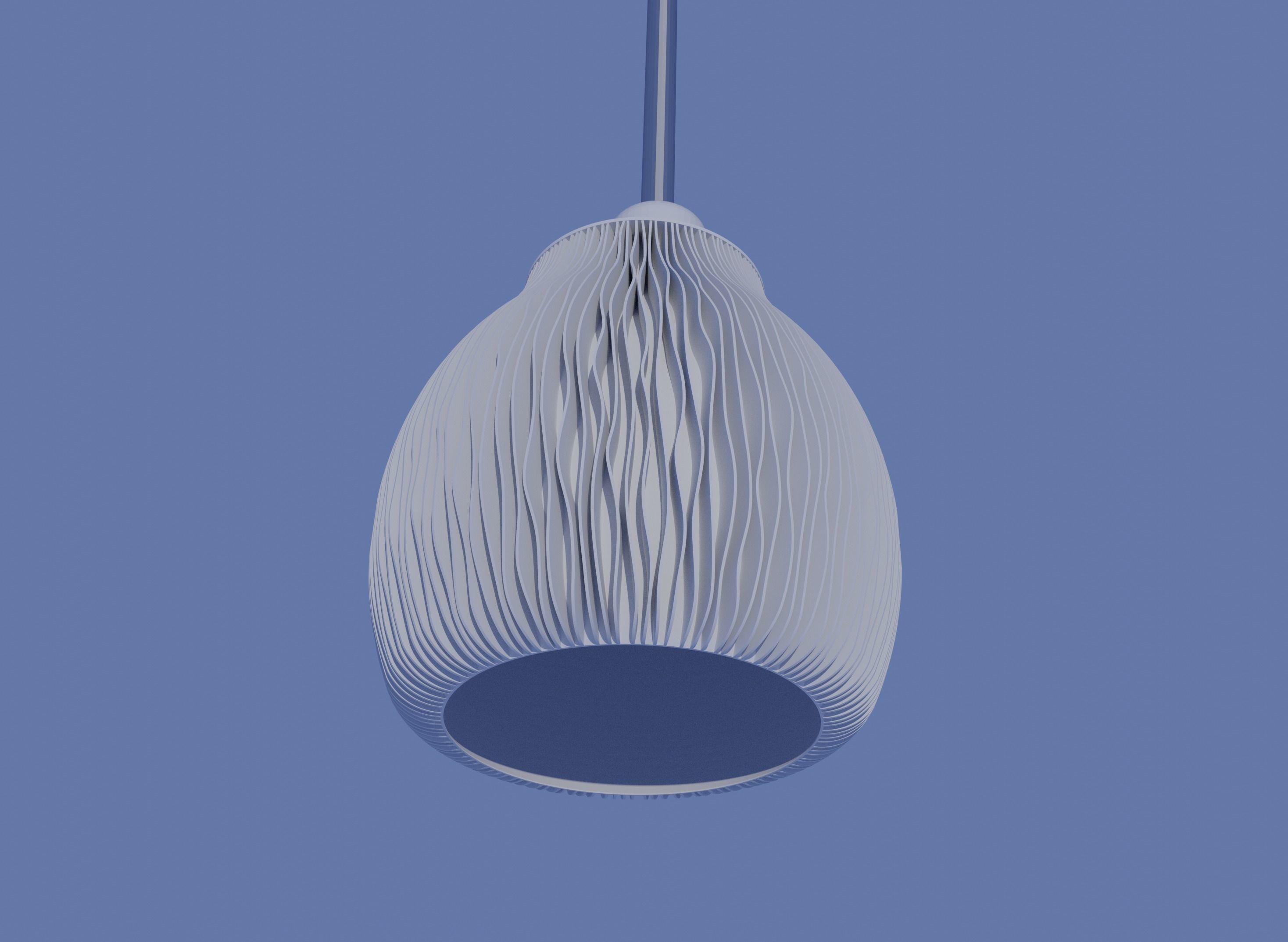 Lampshade - NATURE MUSHROOM - table or pendant lamp - E27 mount