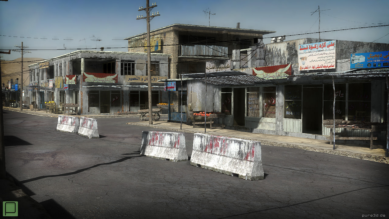 Lovely 25 Afghanistan City Buildings Props For Games 3d Model Low Poly Max Obj 3ds  Fbx ...