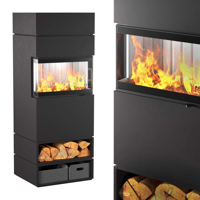 DexterS3 fireplace