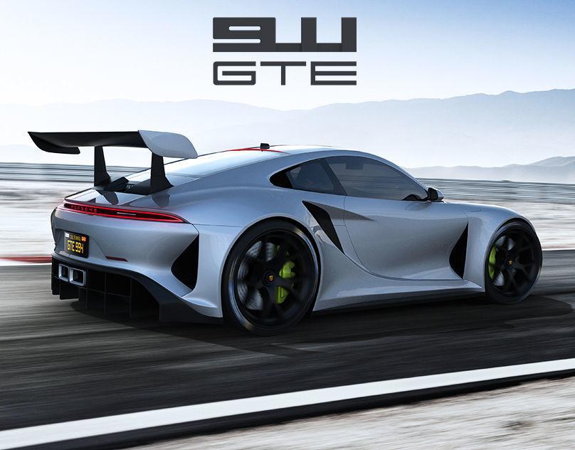Porsche 911 GTE concept by emrEHusmen