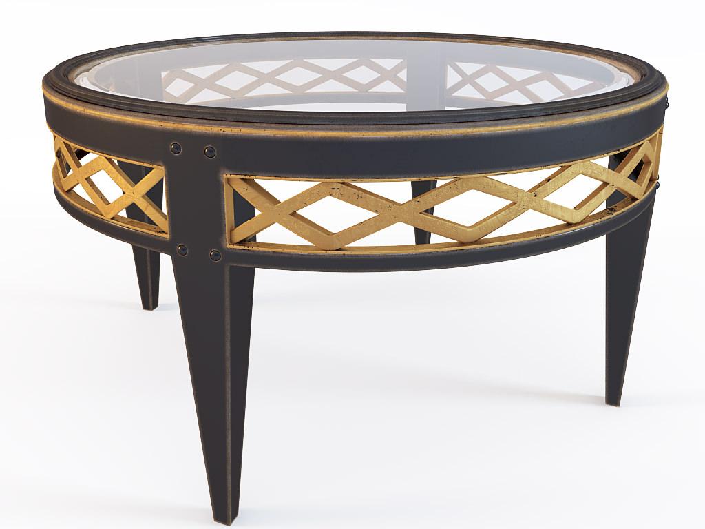 Coffee Table Bizzotto 010407 3d Model Max