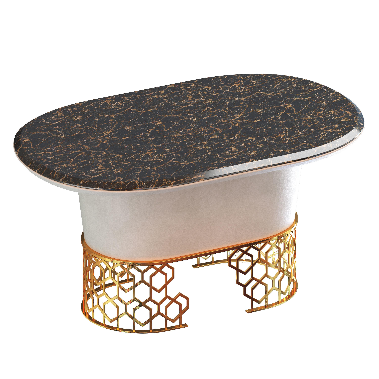 Manbas Meubles Dining Table 3D model MAX OBJ FBX