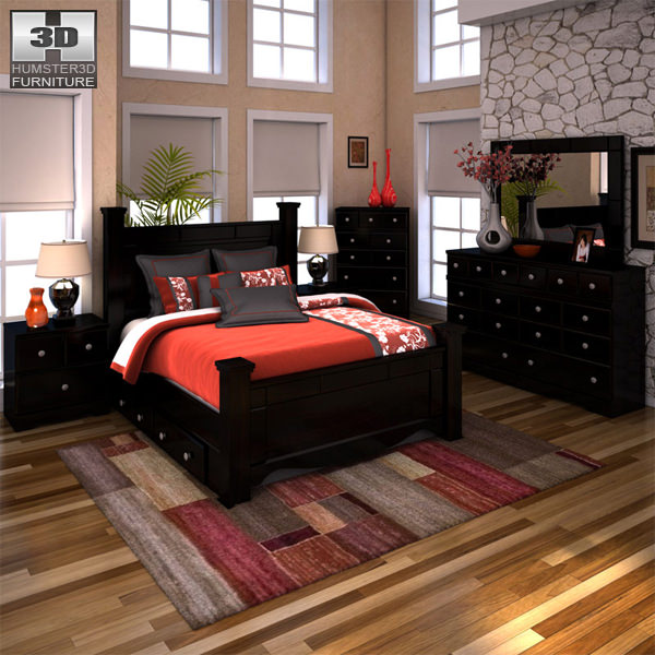 bedroom set with ar