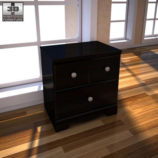 ashley shay bedroom set.  Ashley Shay Poster Bedroom Set 3D asset CGTrader