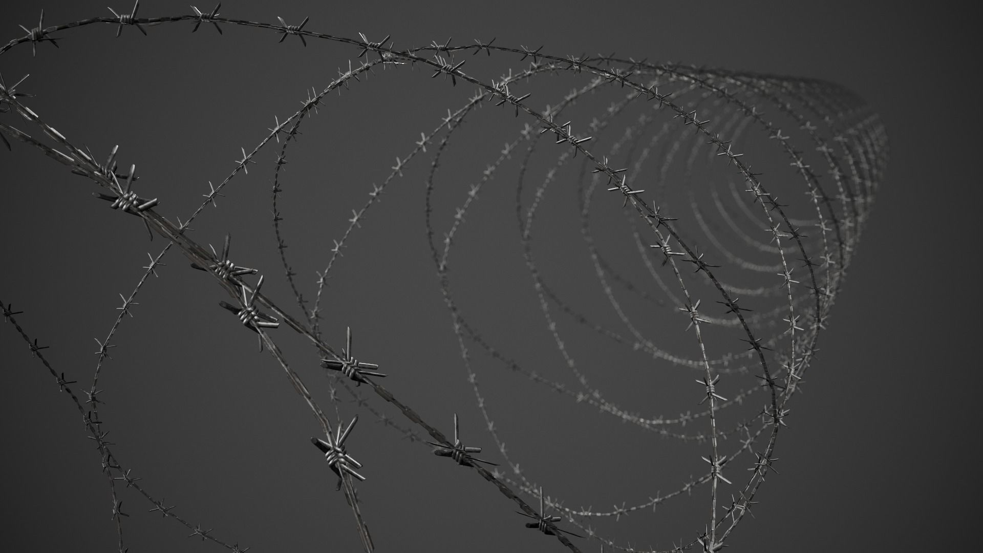 Barbed Wire Pack PBR Game Ready