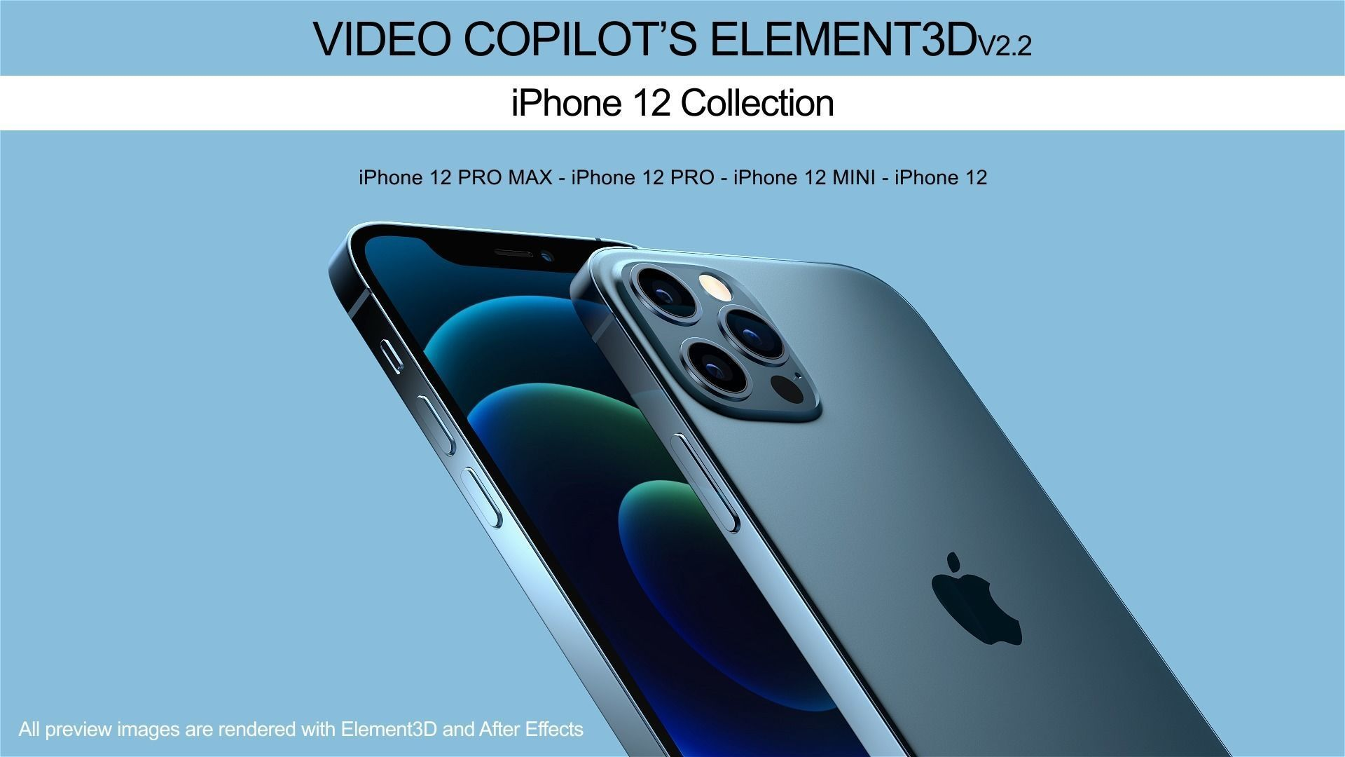 Element3D - iPhone 12 Collection