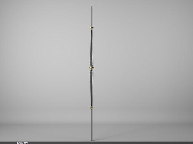 grande forge classic b6106 3d model max 1