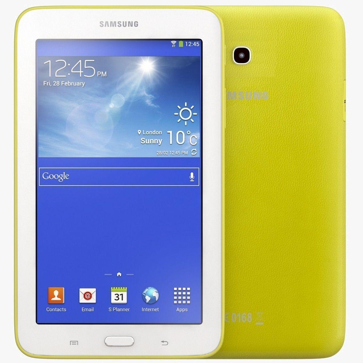 Samsung Galaxy Tab 3 Lite 7 0 3G Yellow