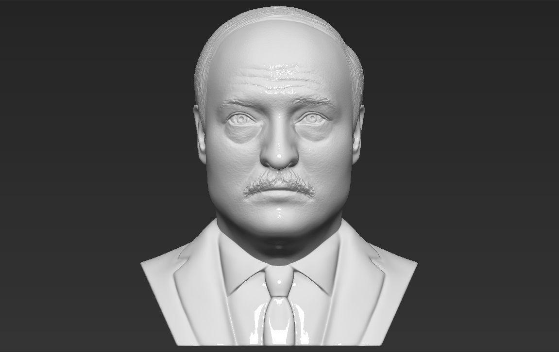Alexander Lukashenko bust 3D printing ready stl obj formats