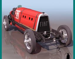 FIAT MEFISTOFELE RACING 3D Model