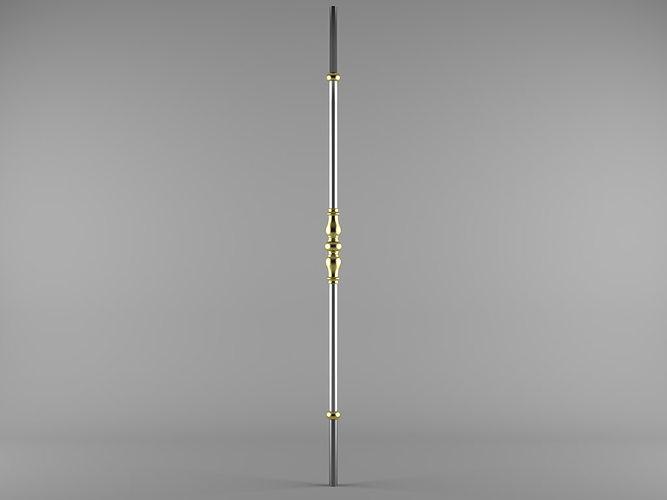 grande forge harmonie bl103 3d model max 1