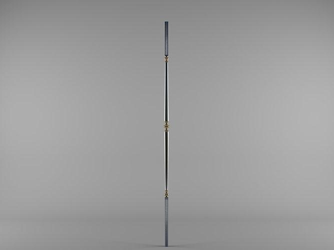 grande forge paris bl501 3d model max 1