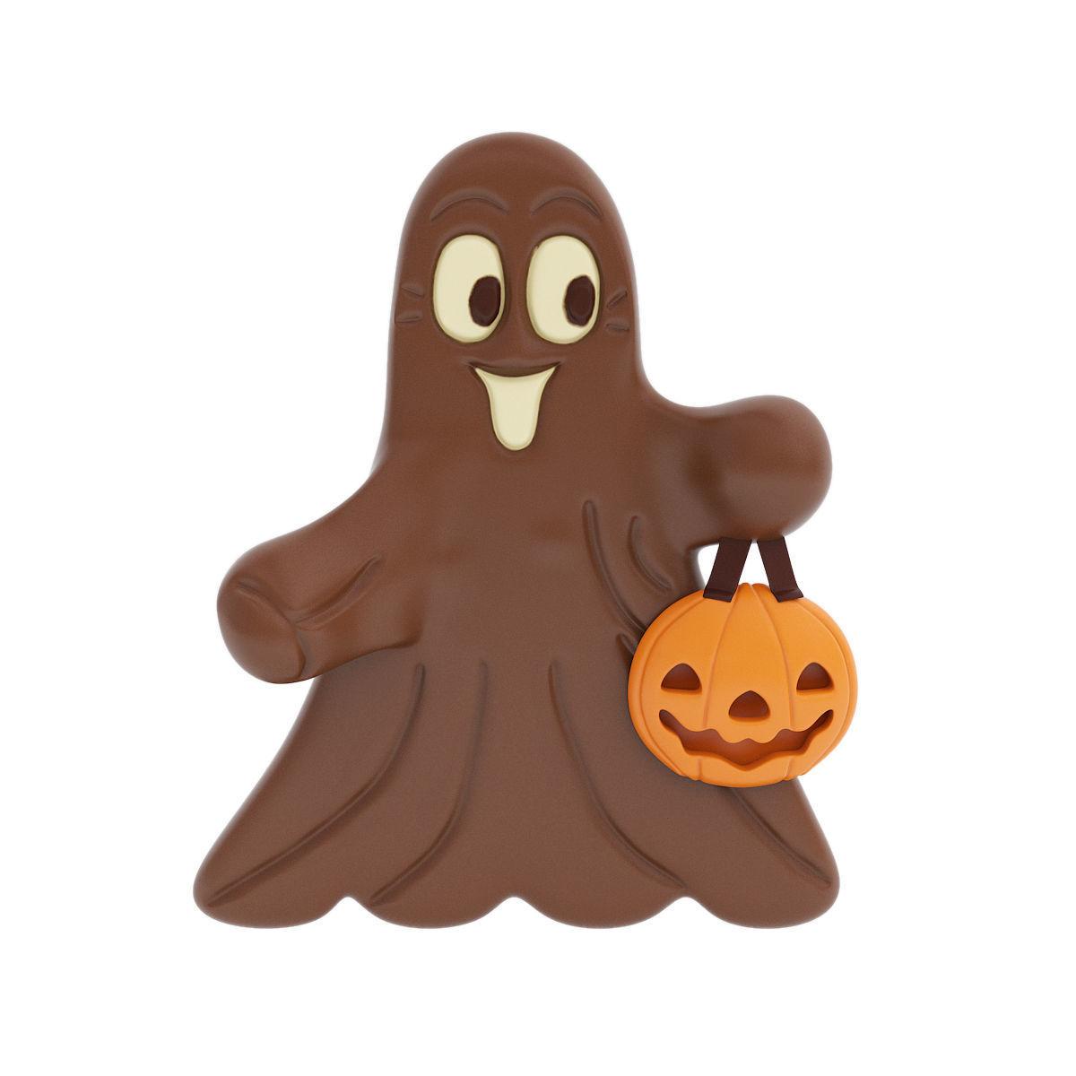 Chocolate ghost figurine
