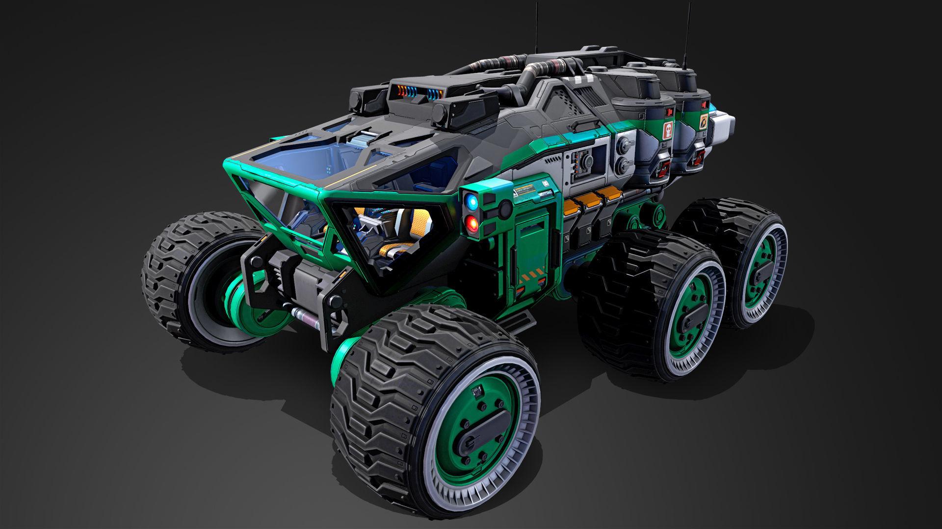 Mars Rover vehicle