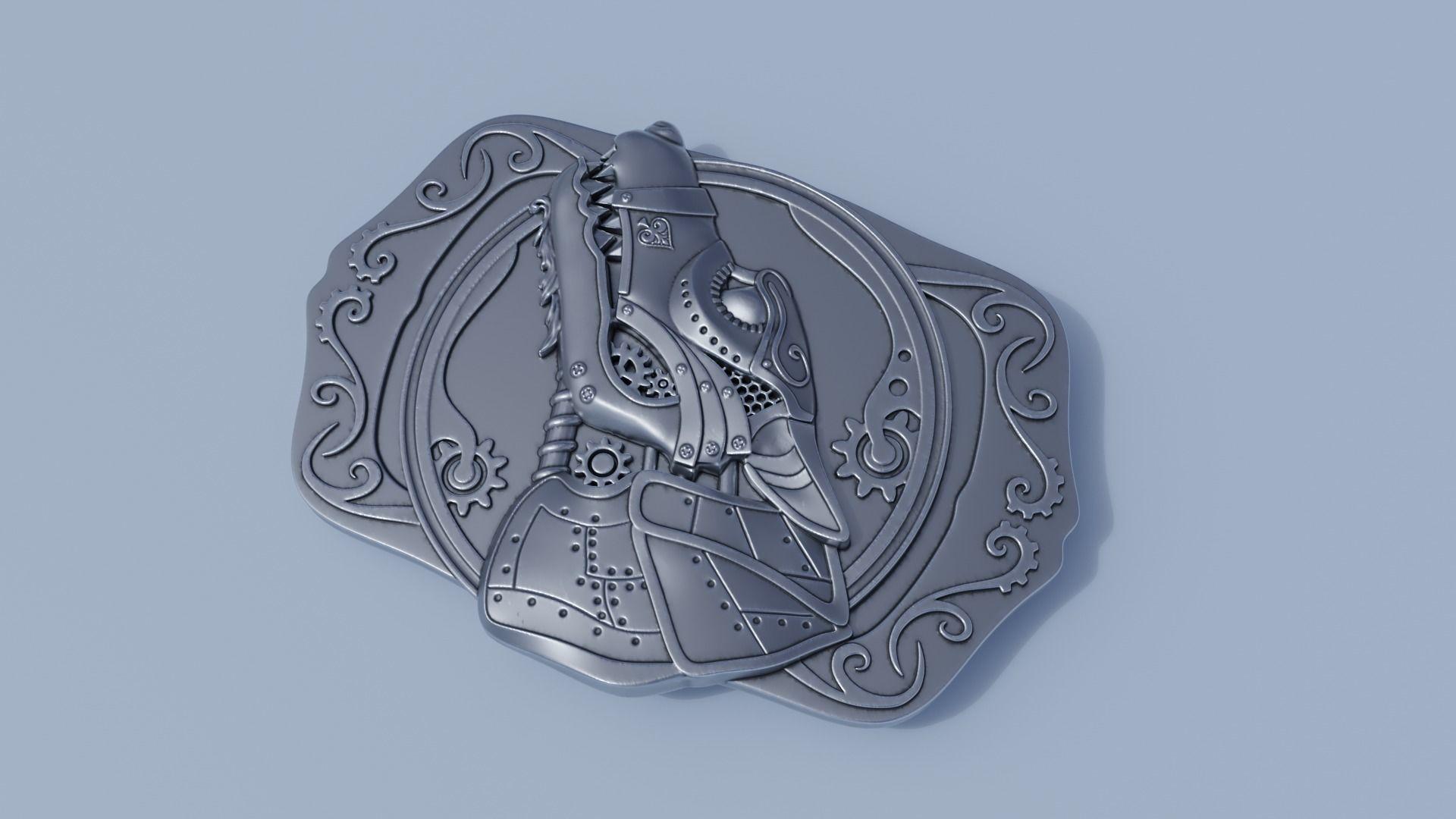 Steampunk Belt Buckle