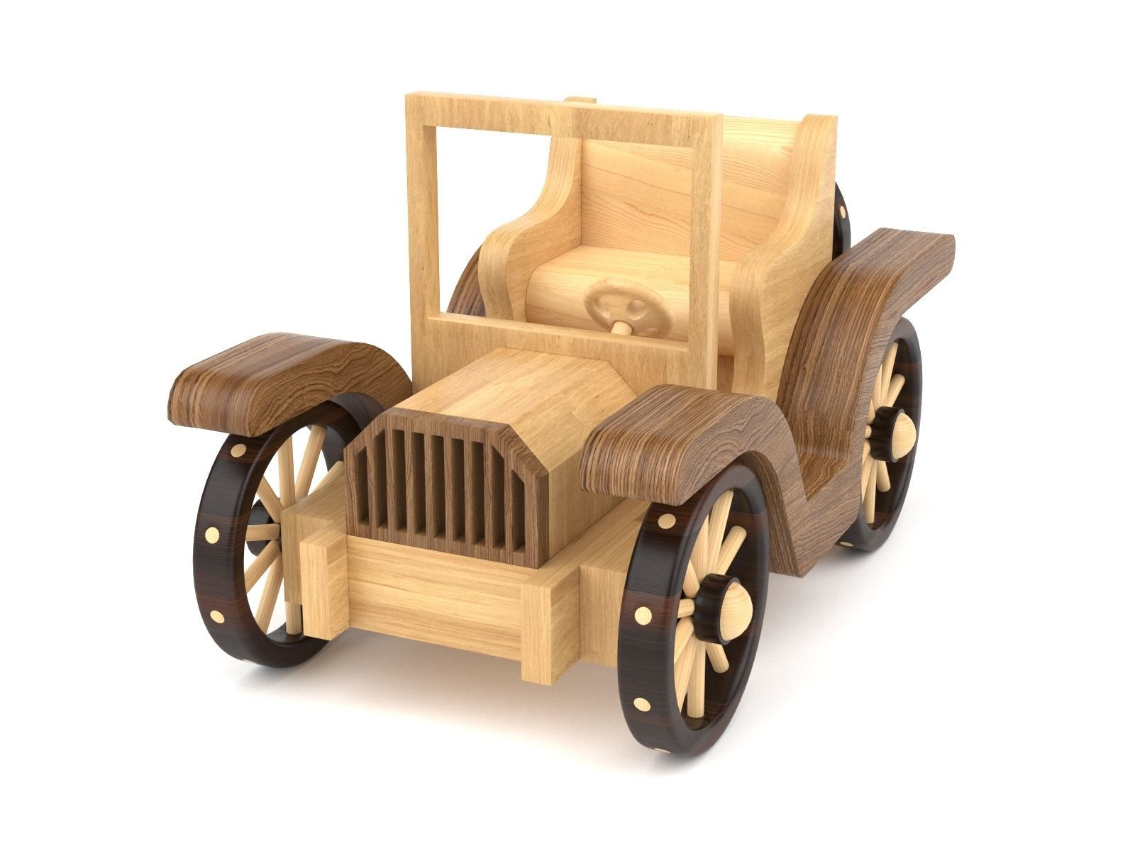 Wooden toy car 35