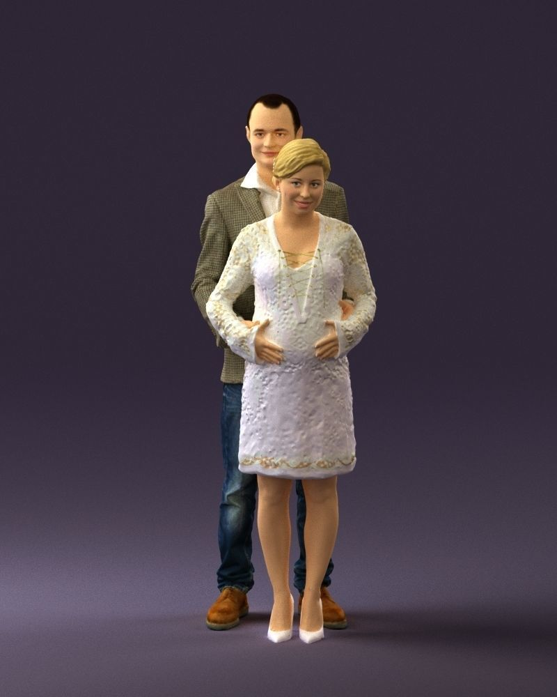 A man and a pregnant woman 0448