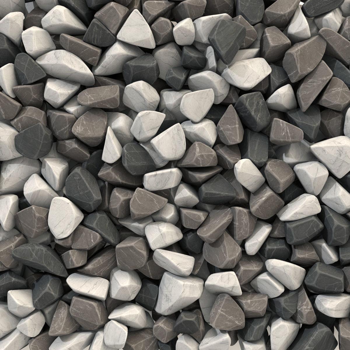 Rock brown white black stone n1