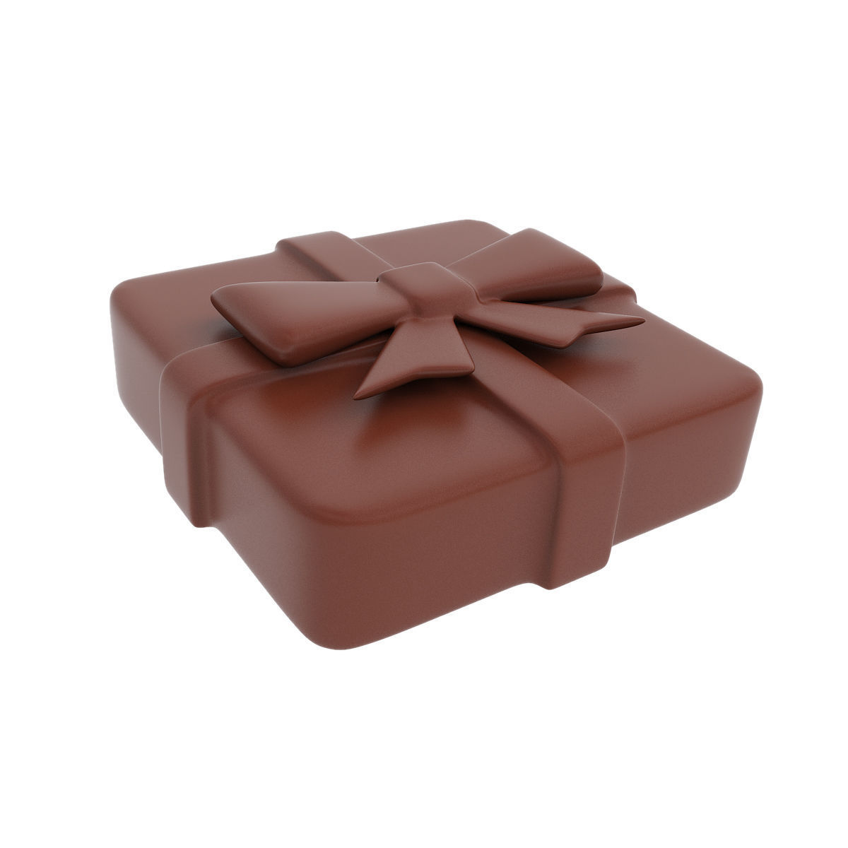 Chocolate present figurine
