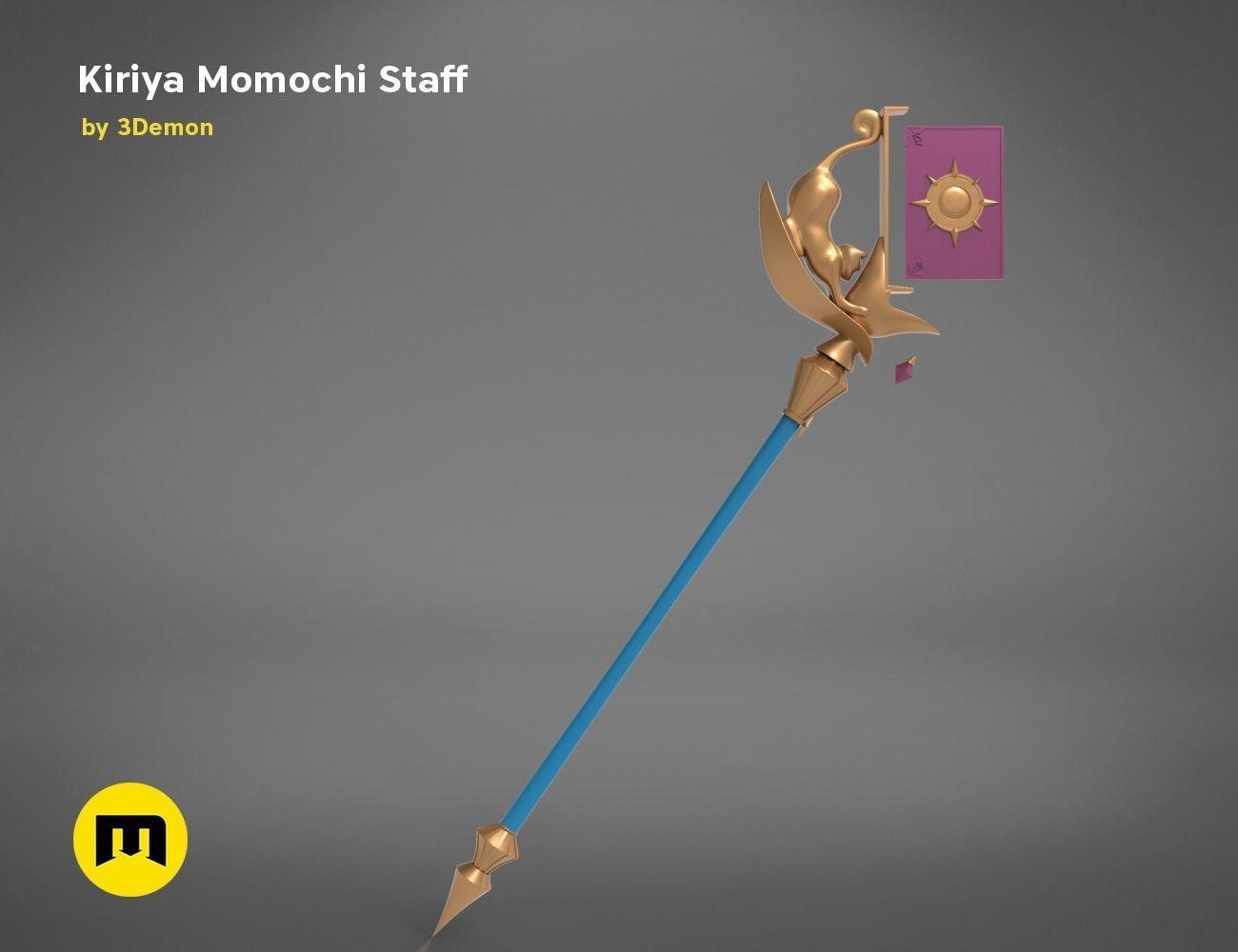 KIRIYA STAFF-Princess Connect 3D PRINT MODEL