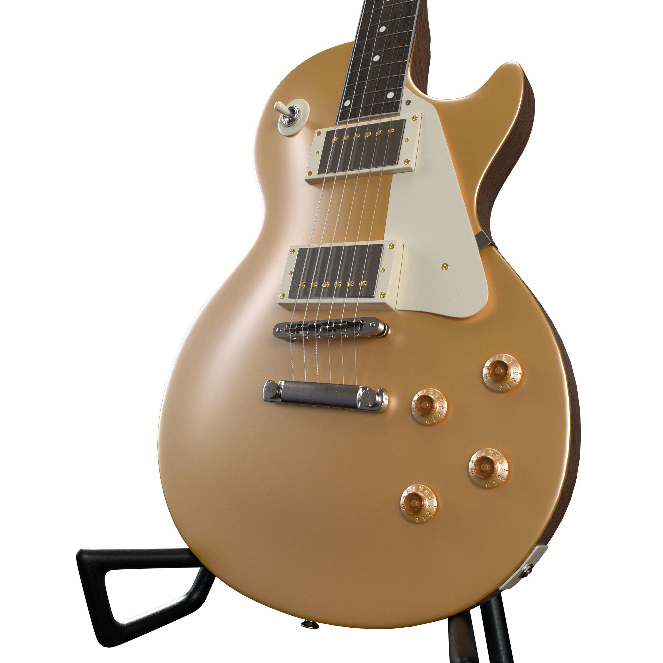Les Paul Gold Top Electric Guitar
